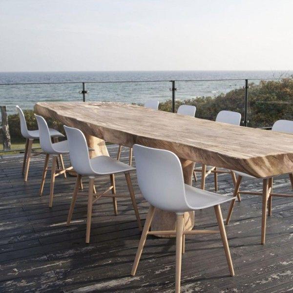 Norr11 Langue Original Dining Chair Outdoor Tisch Danische Mobel Massivholztisch