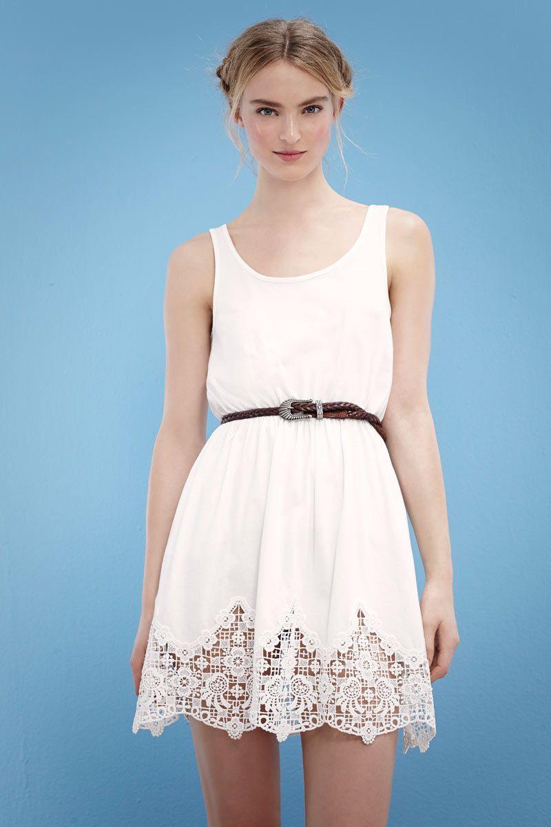 31f22c427 II Lookbook de SuiteBlanco de Primavera Verano 2014 Vestido De Primavera  Blanco