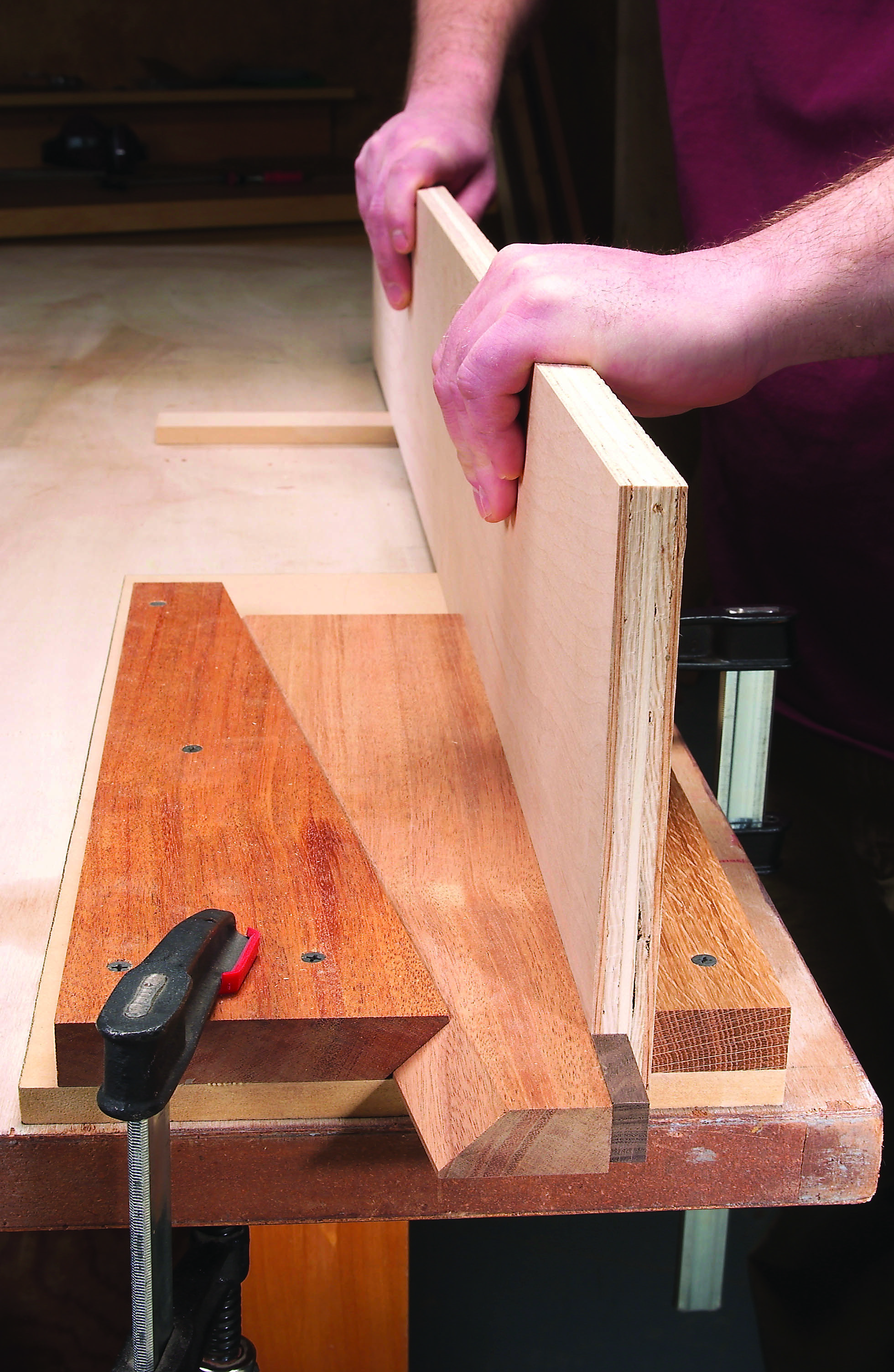 Photo of Workshop Tips: Benchtop Board Clamp