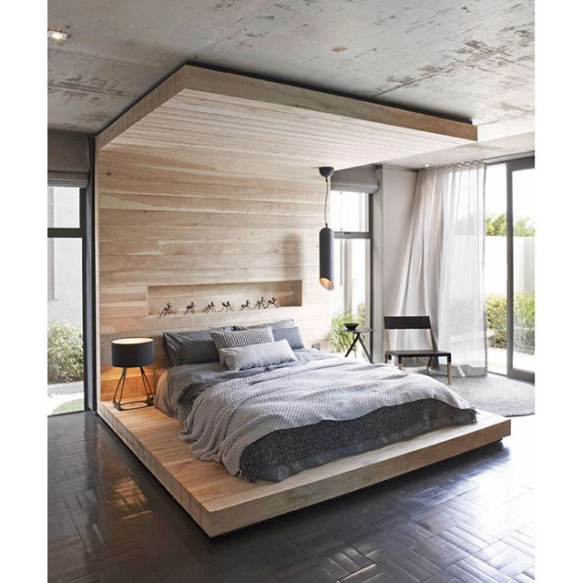 This 'up And Over' Wooden Bed Frame Designed By SITE