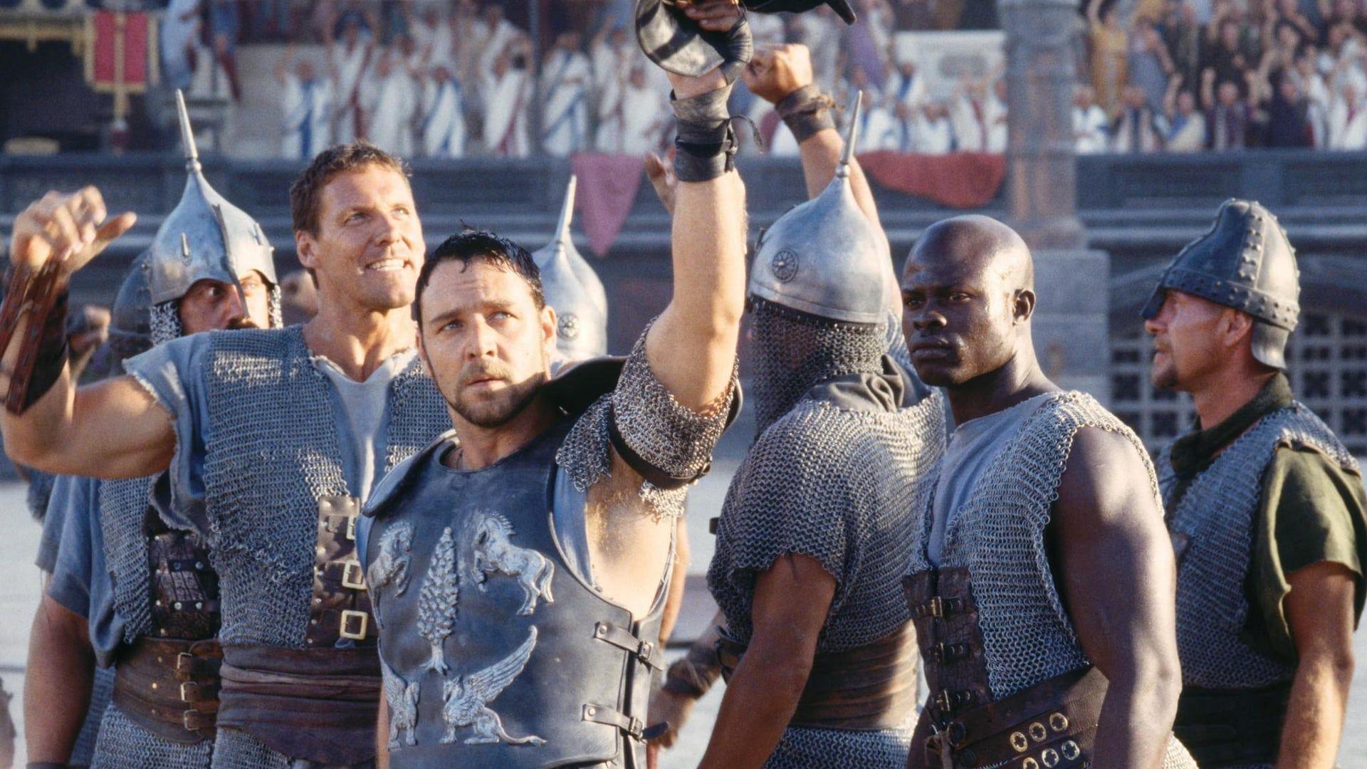 Il Gladiatore 2000 Streaming Ita Cb01 Film Completo Italiano Altadefinizione Dopo Una Vittoria Contro I Britanni L Imperatore Mar Gladiatori Film Film Completi