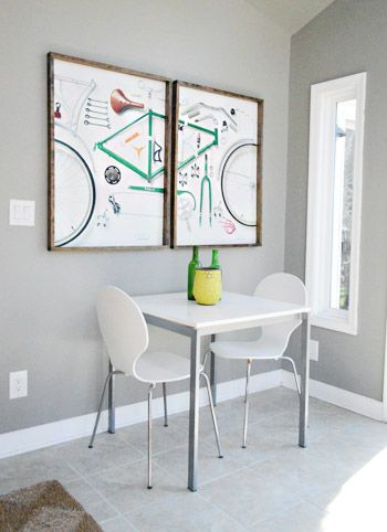 Easy & Cheap DIY Poster Frames | Young House Love... Joseph, I may need your help with this...