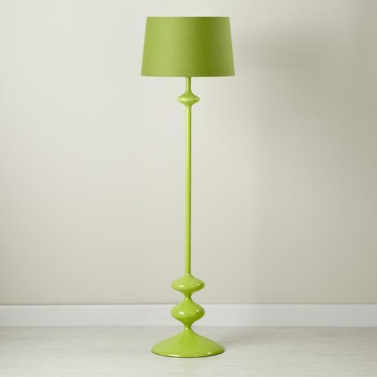 $149 - The Land of Nod | Kids' Floor Lamps: Green Floor ...