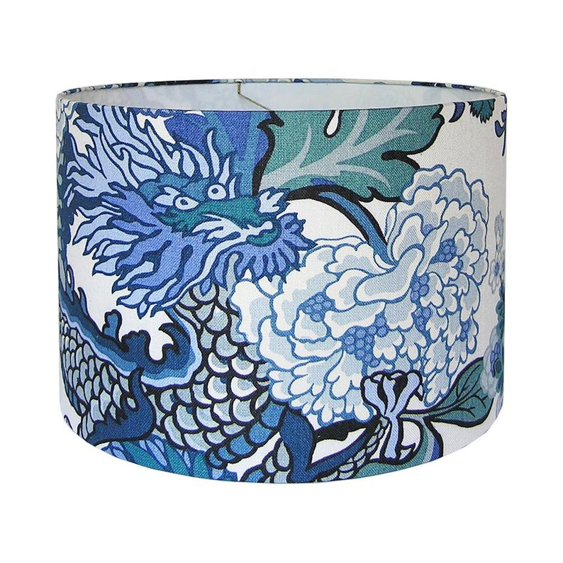 China Blue Designer Lamp Shade in 2020 (With images
