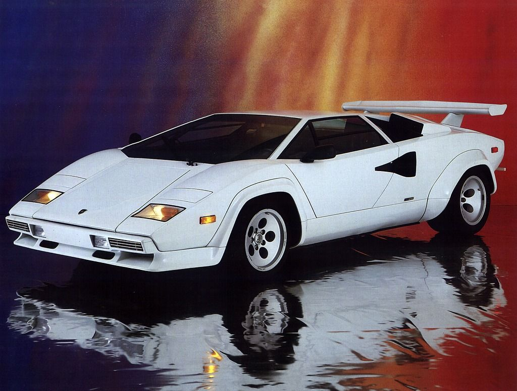Used To Love That Lamborghini Countach Poster