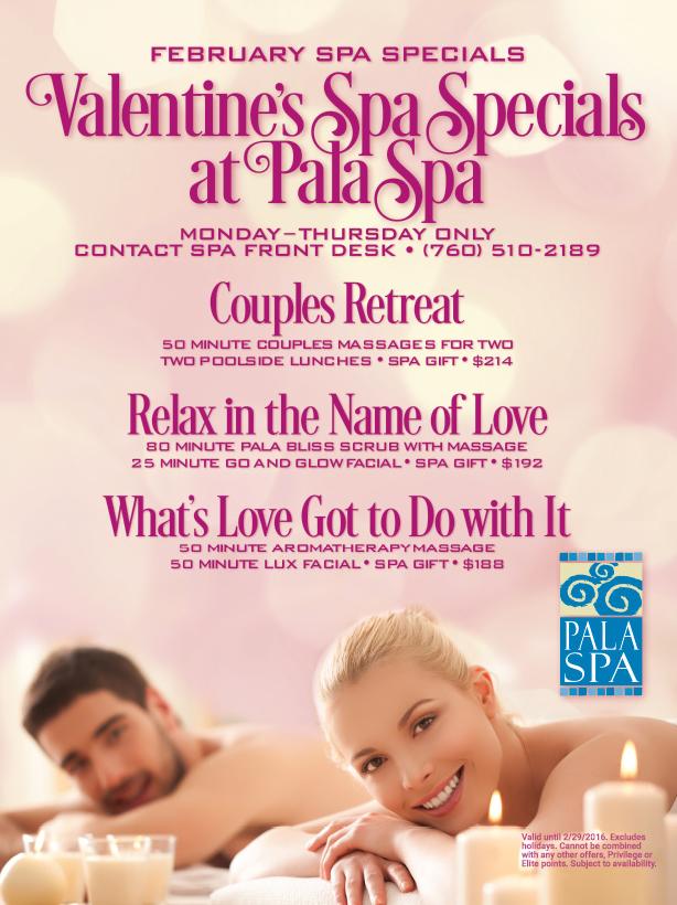 Valentine S Day Spa Specials Day Spa Specials Spa Specials Valentine Spa