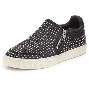 Rebecca Minkoff Smith Studded Leather High-Top Sneaker