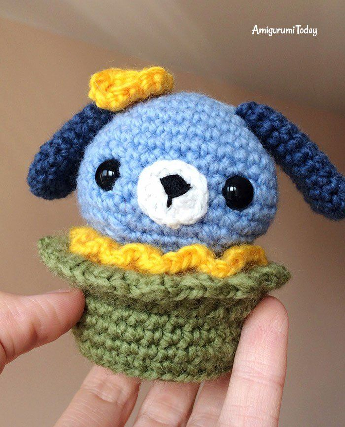 Amigurumi hond cupcake - GRATIS haakpatroon | Haken | Pinterest ...