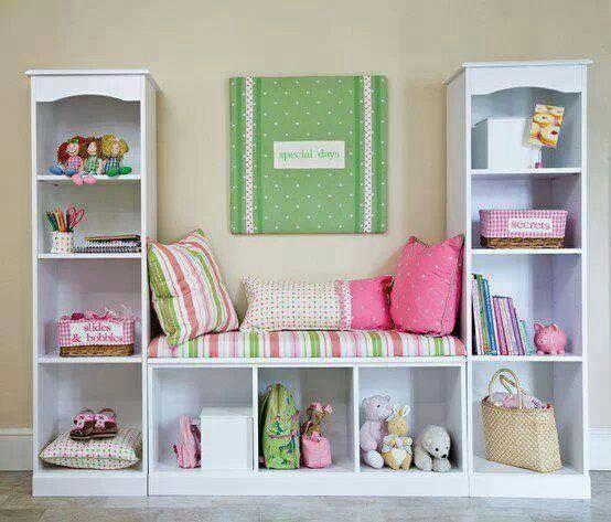 Cuarto nena | declutter organization and storage idea | Pinterest ...