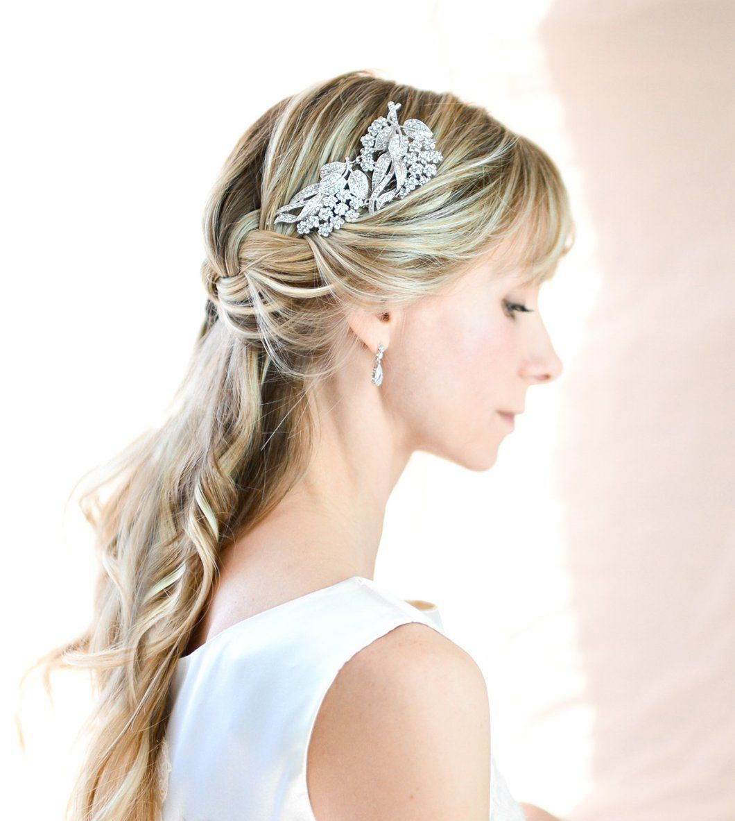 vintage style bridal hair comb by lottie da designs | what to wear
