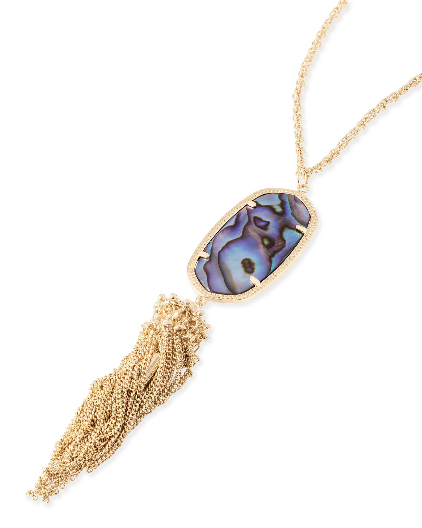 Rayne necklace in abalone shell fashion pinterest jade