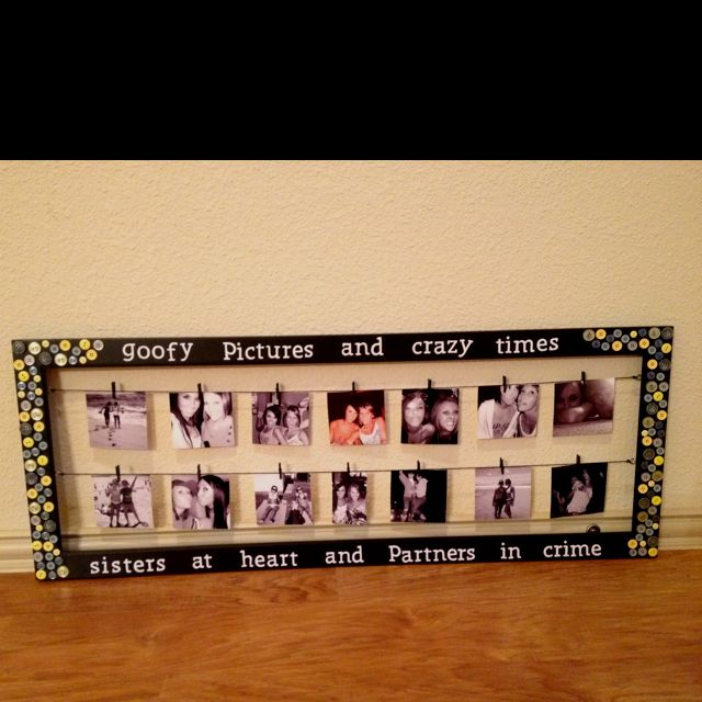 Diy 18th Birthday Gifts For Boyfriend: I'm Going To Do This With A Frame I Have That The