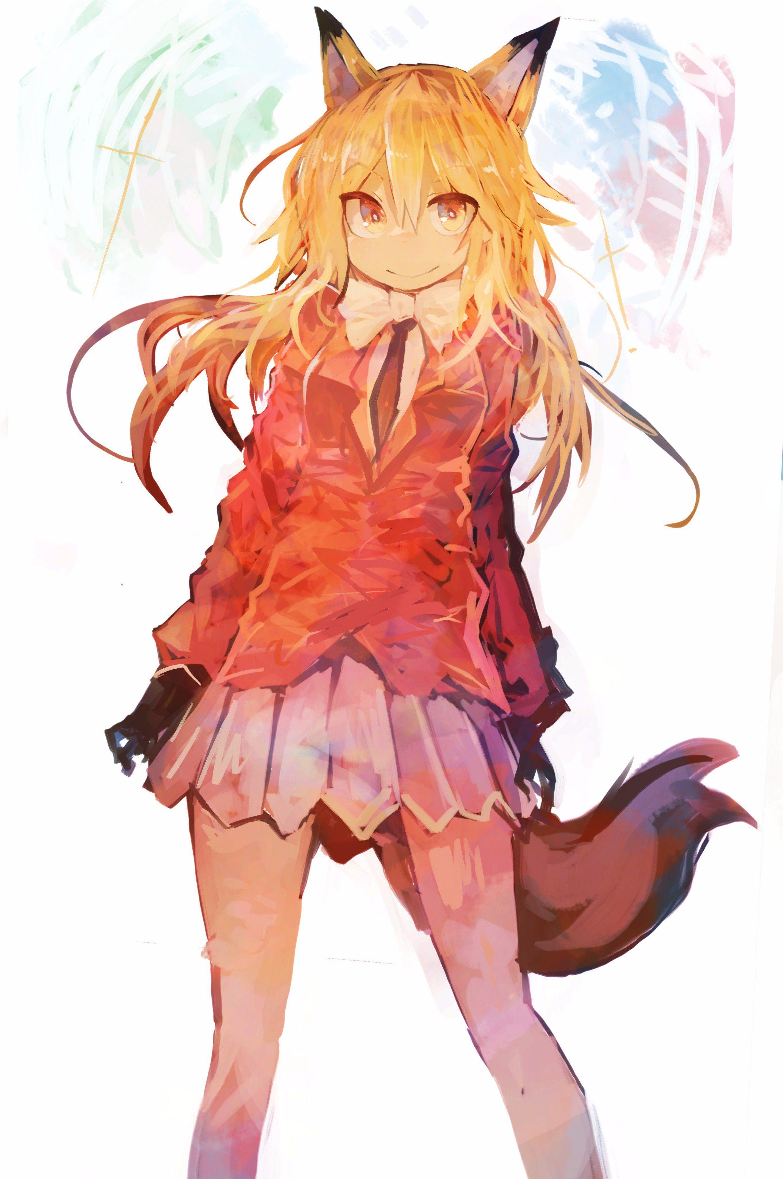 Ezo Red Fox Anime Character Design Anime Neko Anime Characters
