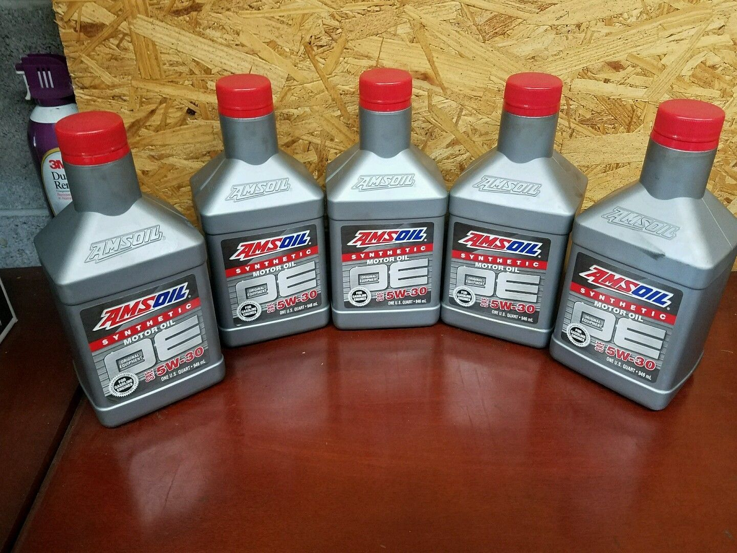Synthetic Motor Oil Amsoil 5w 30 5 Quarts For Gm Ford Ford