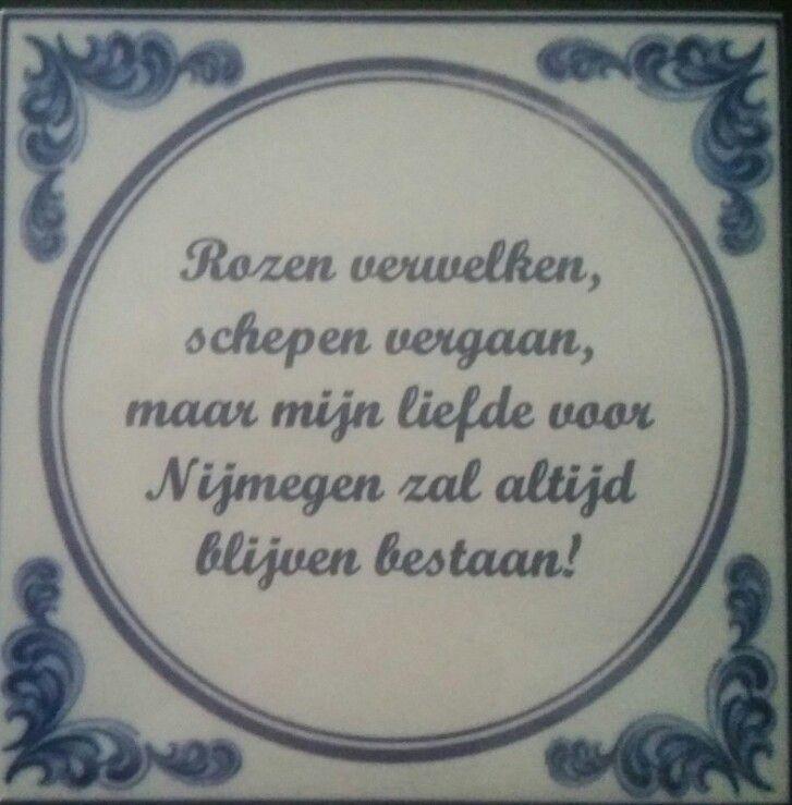 Tegeltje bestellen? Stuur een bericht naar info@nijmegenmijnstad.nl prijs is € 10.99