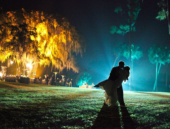 Bok Tower Gardens Wedding, Up Lighting, Eric Farewell Photography, Stephanie Fleisher, Swanky I Do's, Orlando Wedding Planner