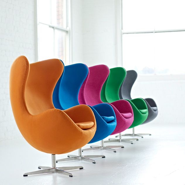Egg chair cool colours inspiration furniture for Egg designs furniture