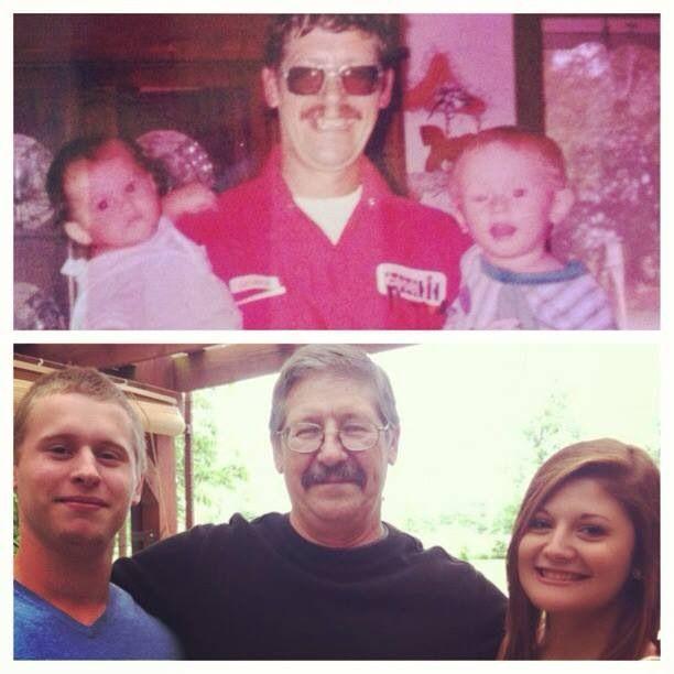 Grandpa with devin & Kristen
