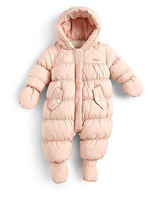 1b94744f9092 Chloé Infant s Puffer Snowsuit