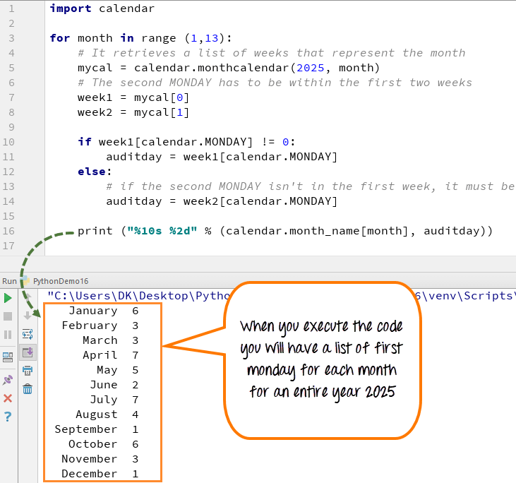 Python CALENDAR Tutorial with Example   Программирование in