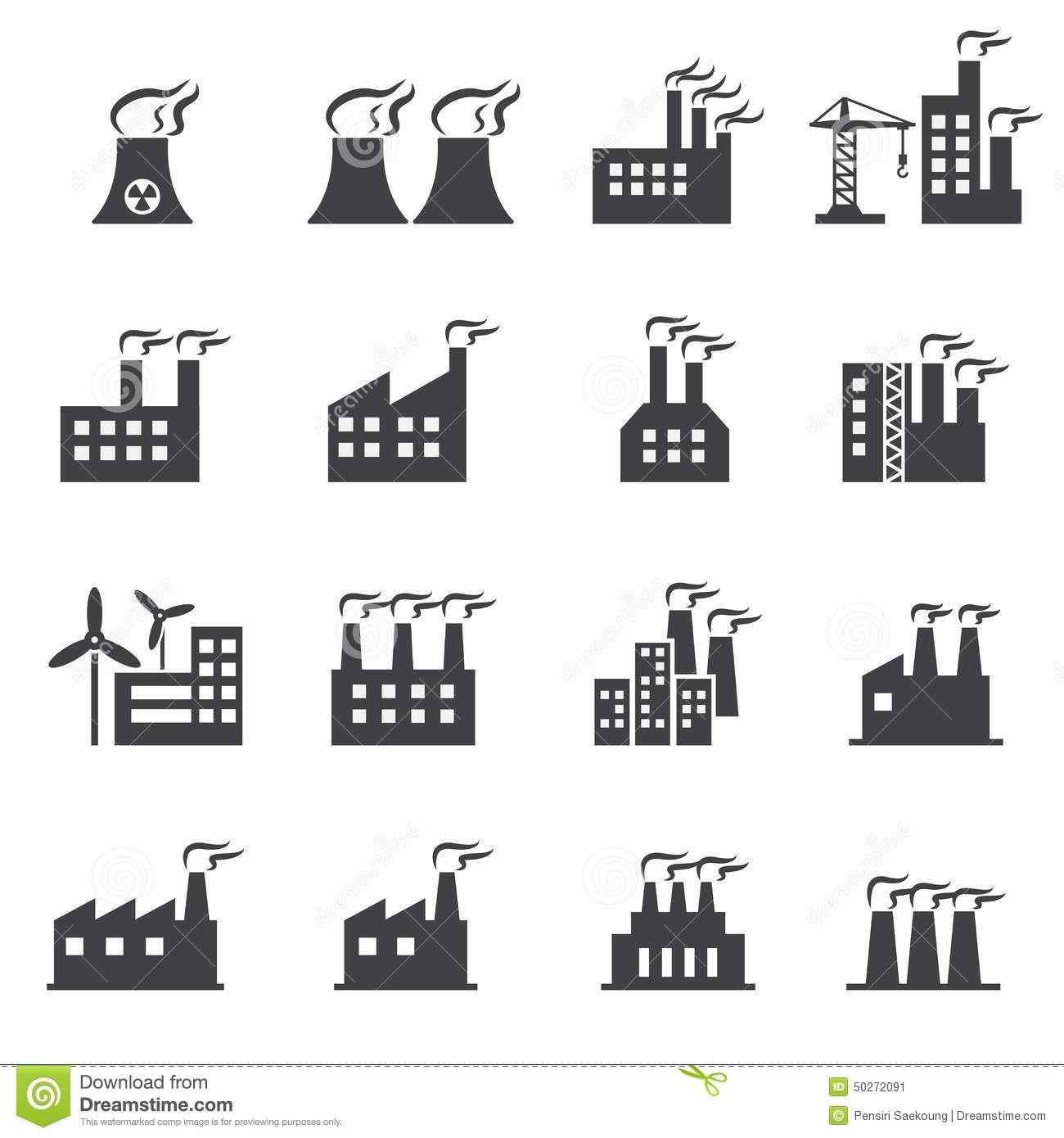 Industrial building icon web illustration design vector sign industrial building icon web illustration design vector sign biocorpaavc