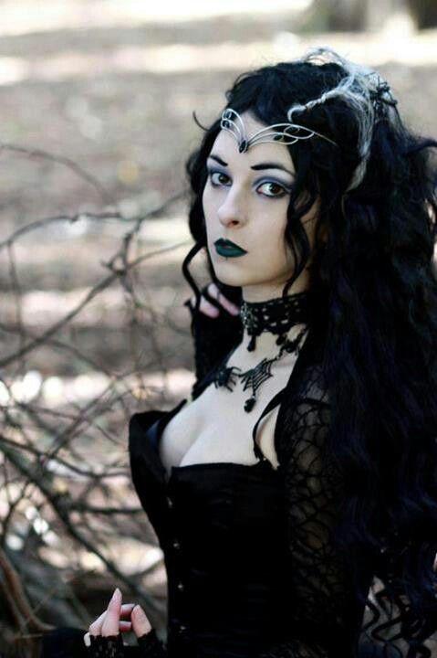 Dark gothic witch girls agree with