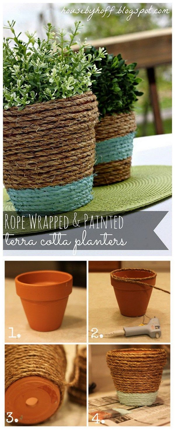 17 Creative Ideas To Decorate With Terra Cotta Flower Pots