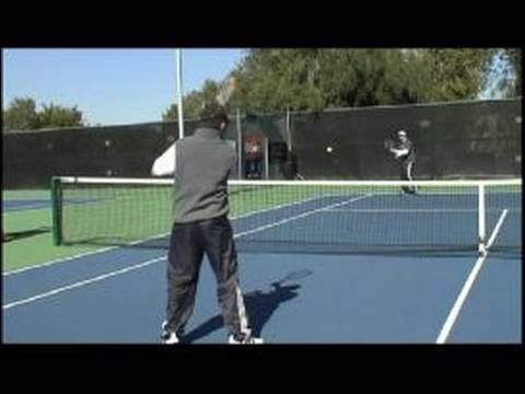 Tennis Doubles Strategy Baseline Shots From Net In Doubles Tennis Tennis Doubles Tennis Tennis Lessons