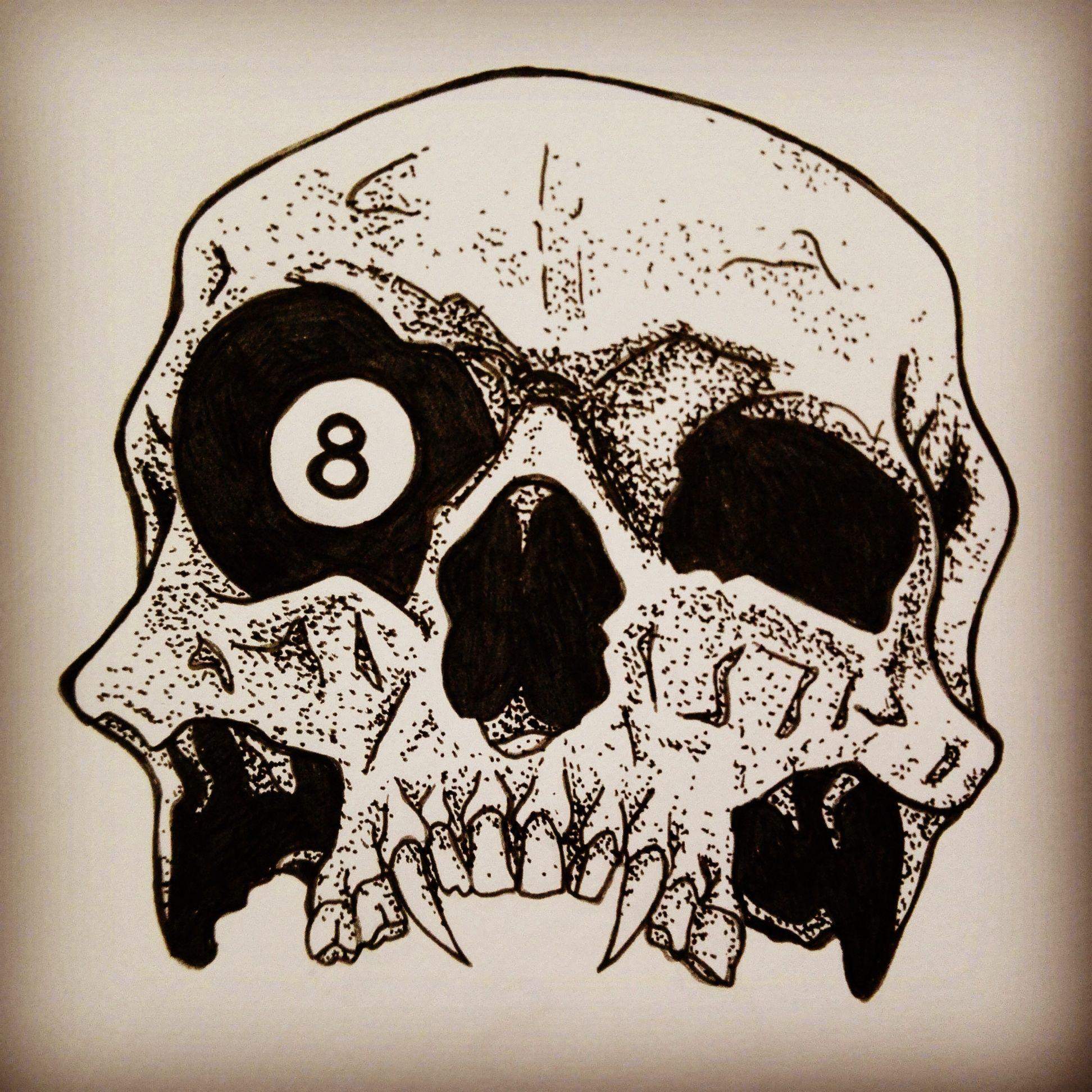 Картинки татуировок черепа