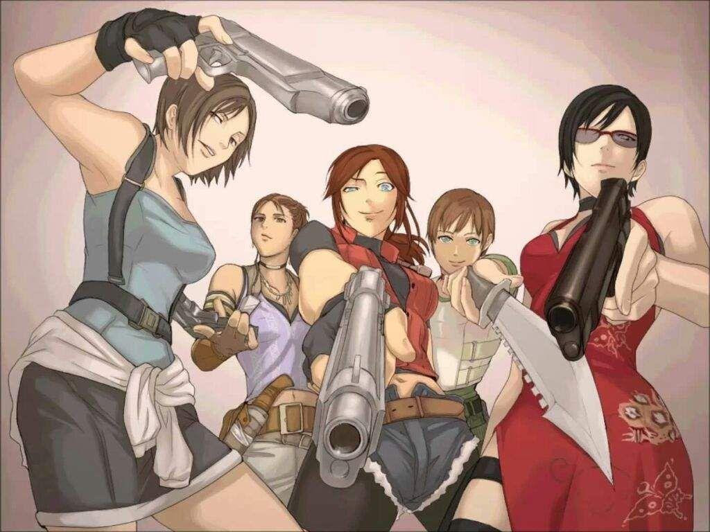 Resident Evil Ladies Resident Evil Anime Resident Evil Girl Resident Evil Funny