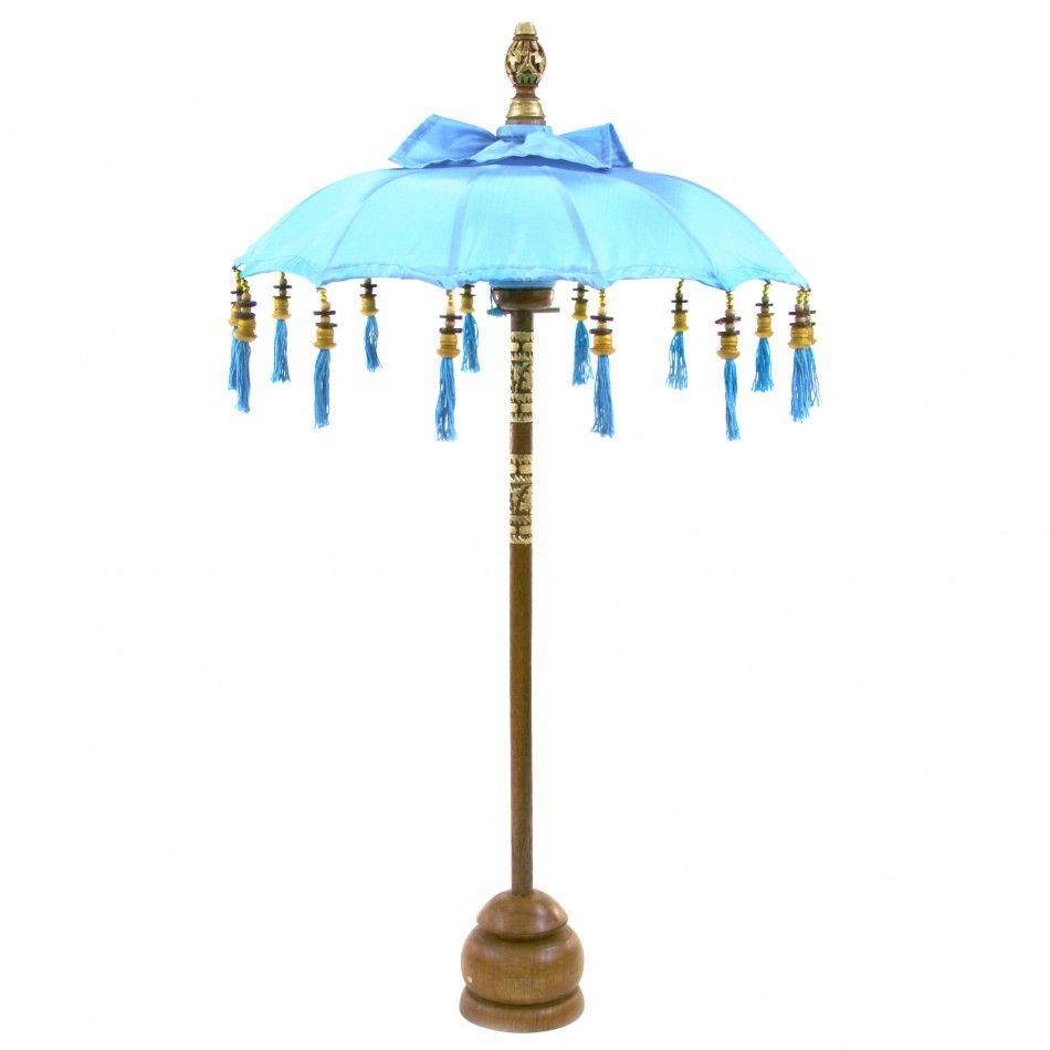 34 Turquoise Tabletop Bali Umbrella [403088] : Wholesale Wedding ...