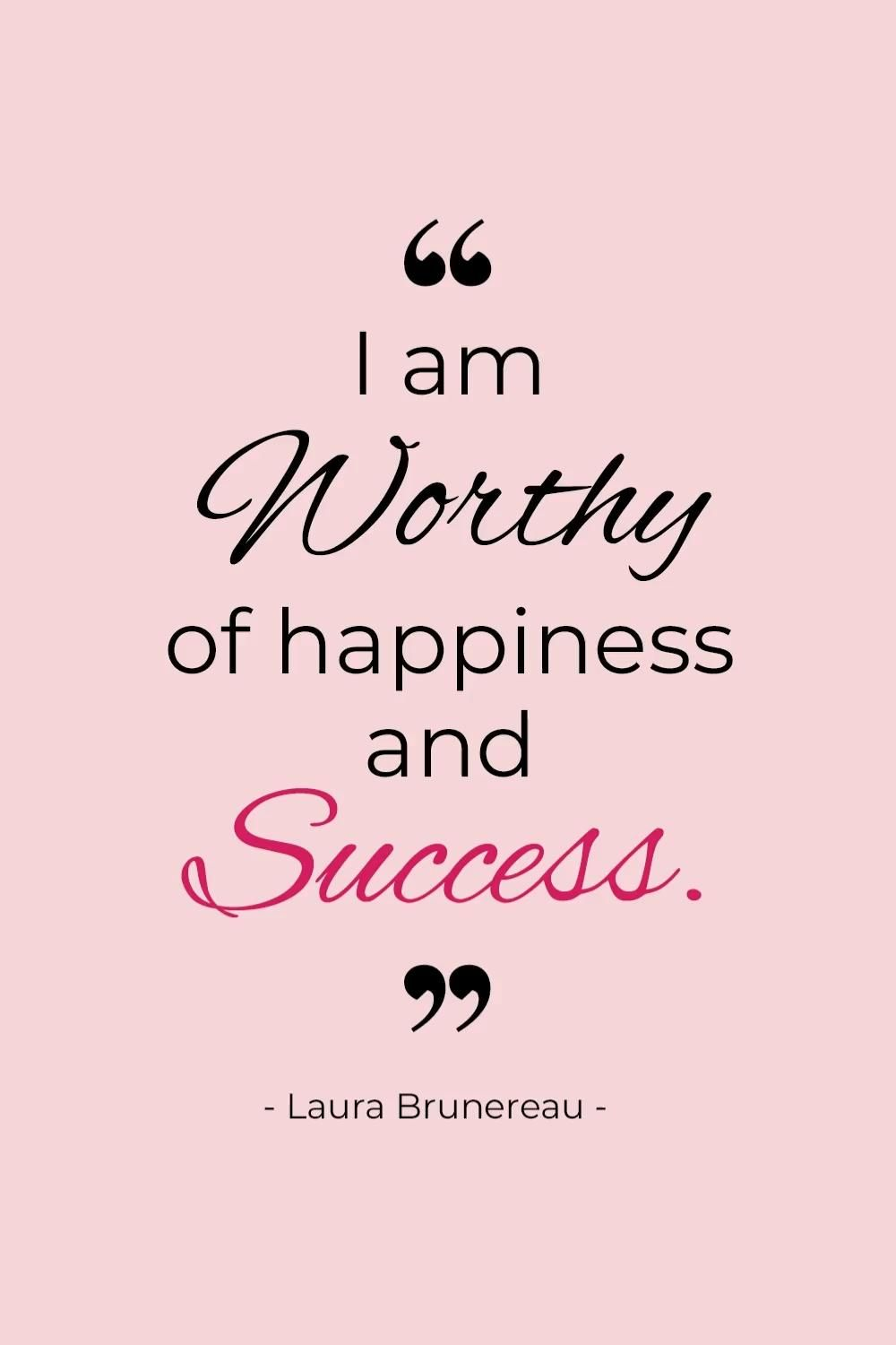 Positive Affirmations For Woman Empowerment And Positive Mindset | Luxe Fashion Blog