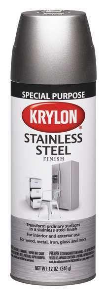 Krylon Spray Paint Stainless Steel 10 Min K02400000 Painting Appliances Krylon Spray Paint Stainless Steel Paint