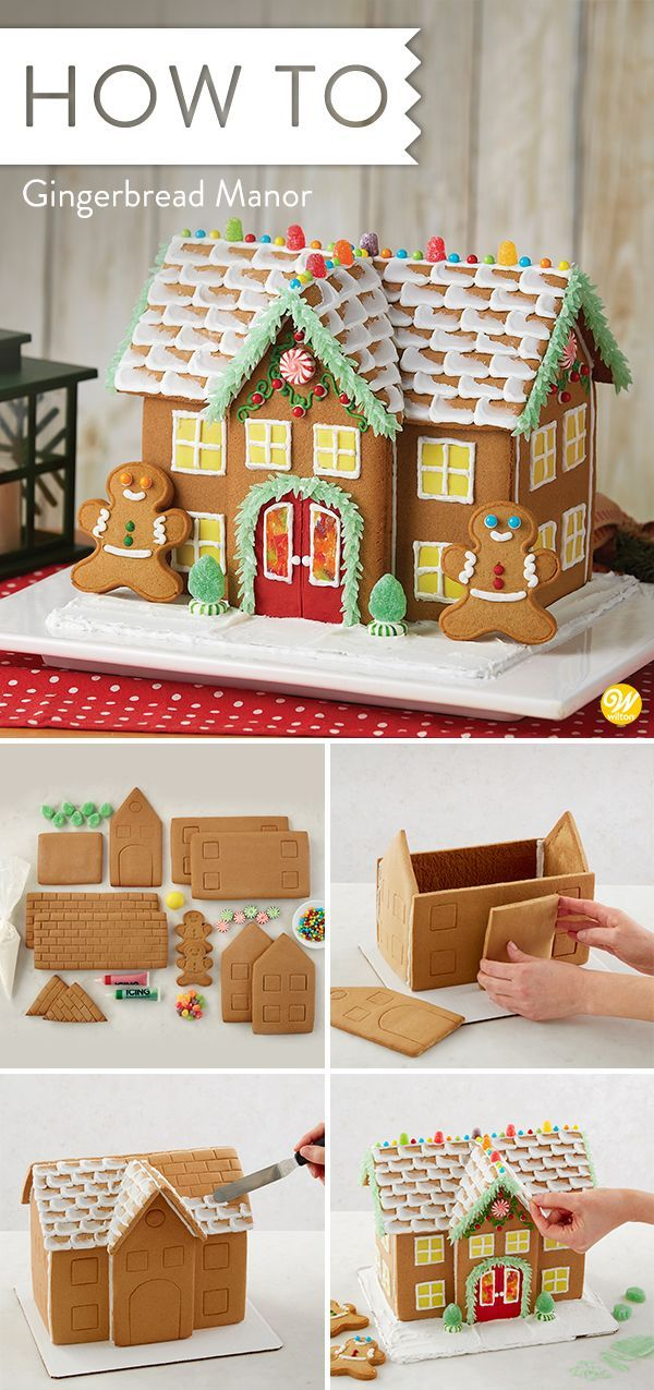 Great Expectations Gingerbread Manor #1 #gingerbreadhouseideas