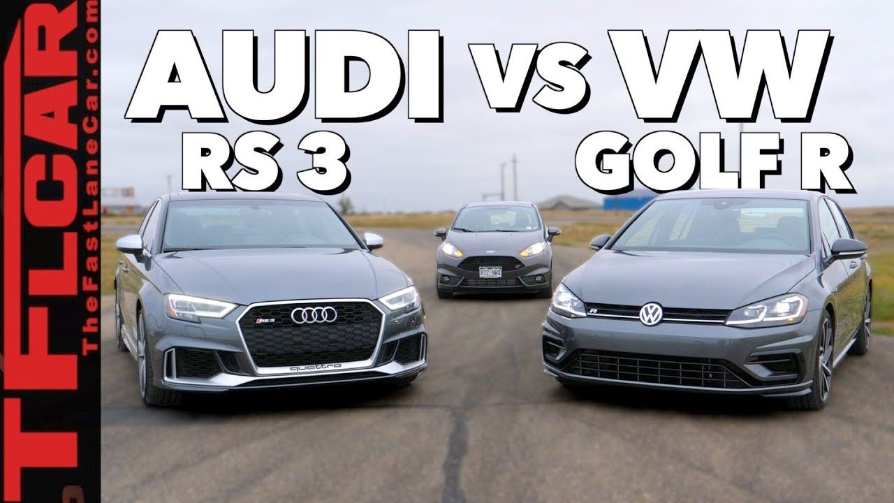Gameshow Is A Vw Golf R Faster Than A Ford Fiesta St No Make