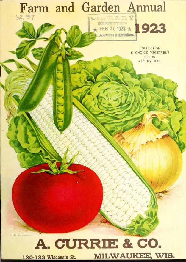 1923 - Farm and garden annual : - Biodiversity Heritage Library. http://biodiversitylibrary.org/page/42216011. #BHLinbloom
