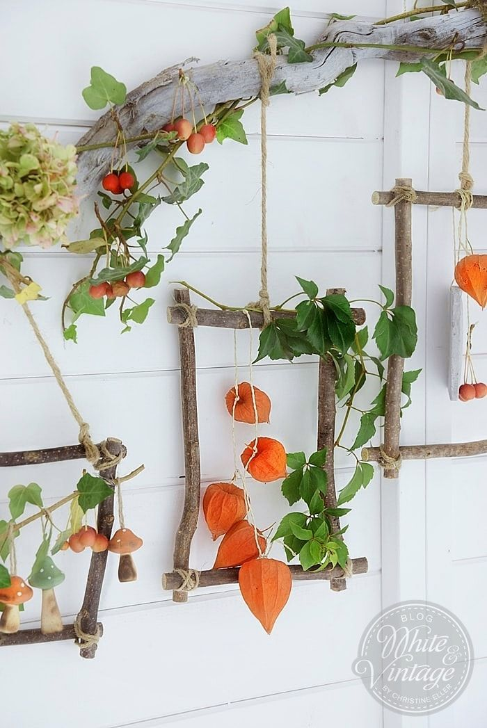 Photo of Autumn decoration – conjure up atmospheric decorations from natural materials