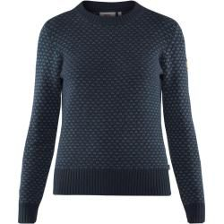 Photo of Fjällräven Övik Nordic Sweater Damen Strickpullover blau L Fjällräven