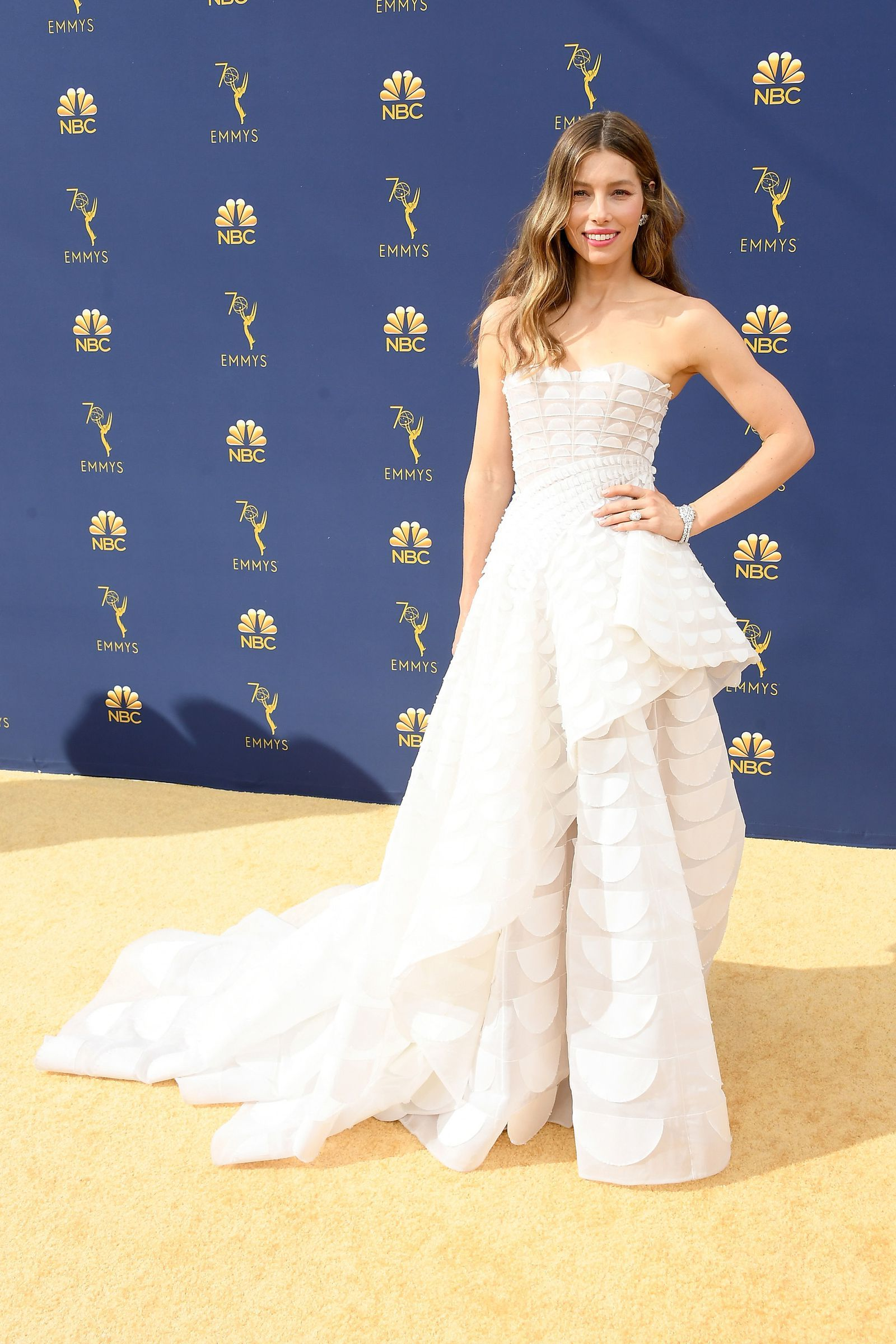 71ef706b98b See Every Red Carpet Look at the 2018 Emmy Awards- HarpersBAZAAR.com