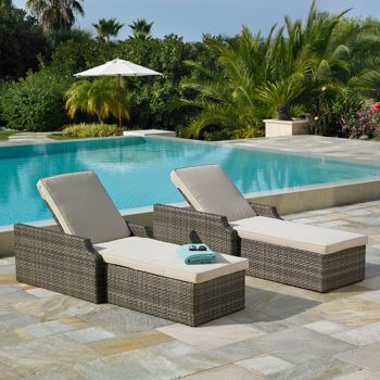 costco kingston chaise lounge 2 pack by mission hills home ideas rh pinterest com