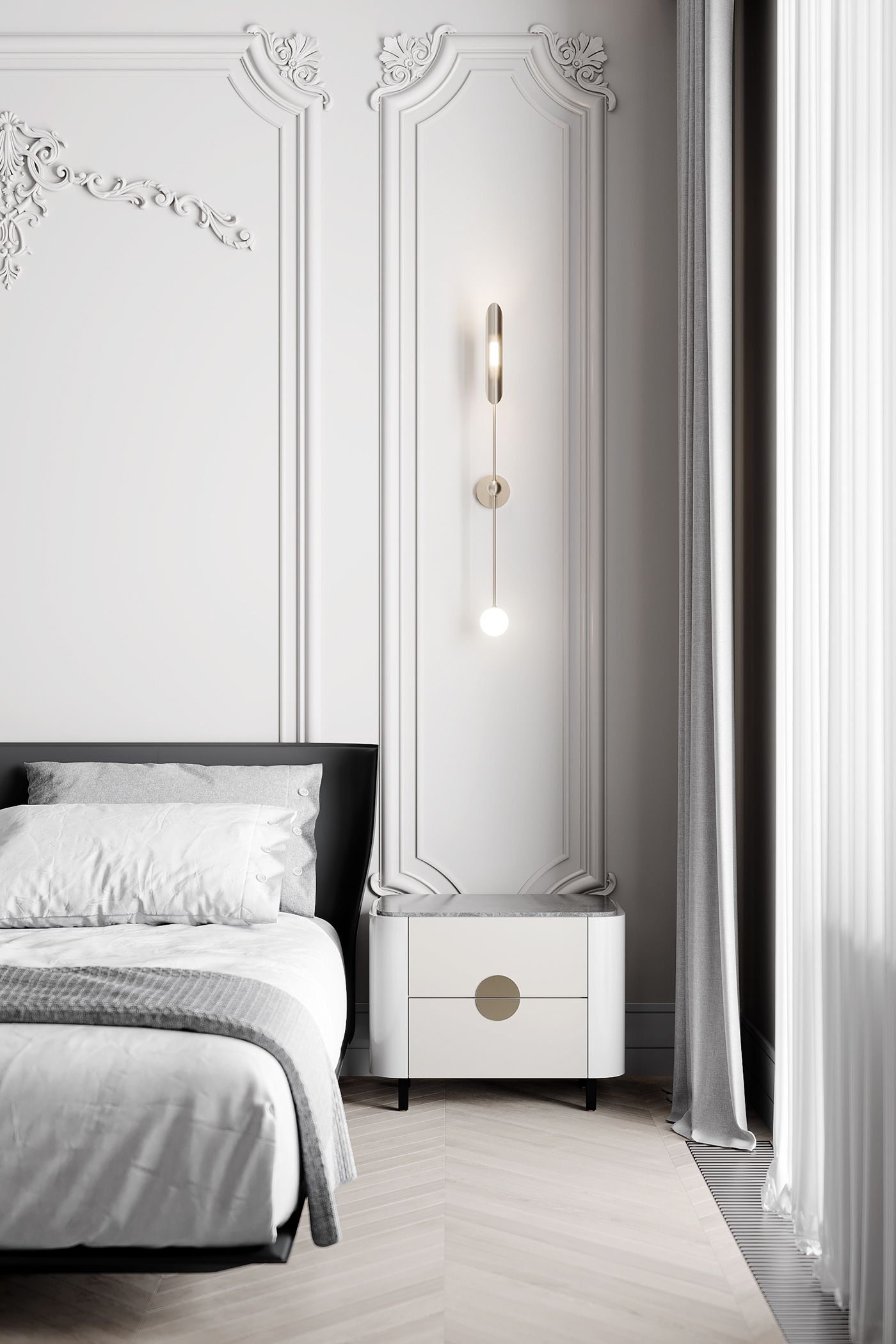 Tikhaya Classica On Behance Apartment Interior Design Luxurious Bedrooms Home Decor