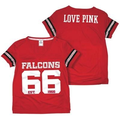 competitive price 78302 ff955 ATLANTA FALCONS VS PINK JERSEY RED | Falcons for Her | Nike ...
