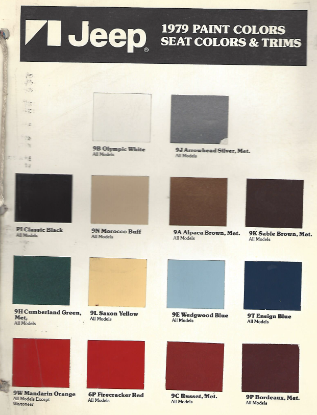 1979 Silver Production Car Paint Colors Wedgwood Blue Paint Colors