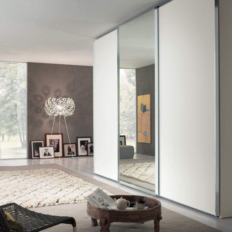 Armoire blanche dans la chambre coucher 25 designs for Armoire chambre parents