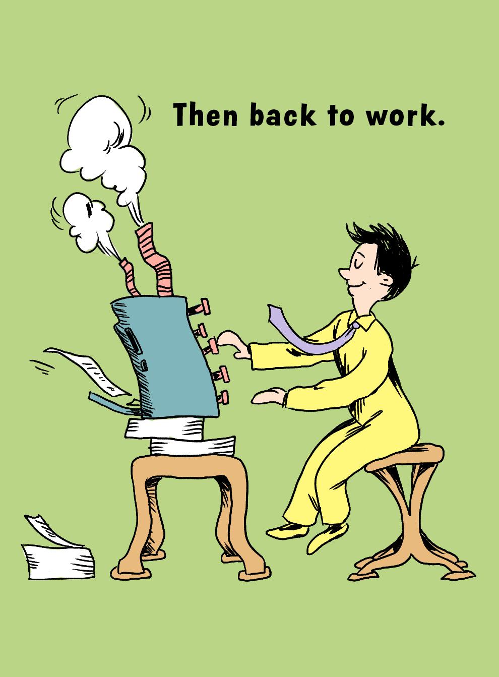An adult work
