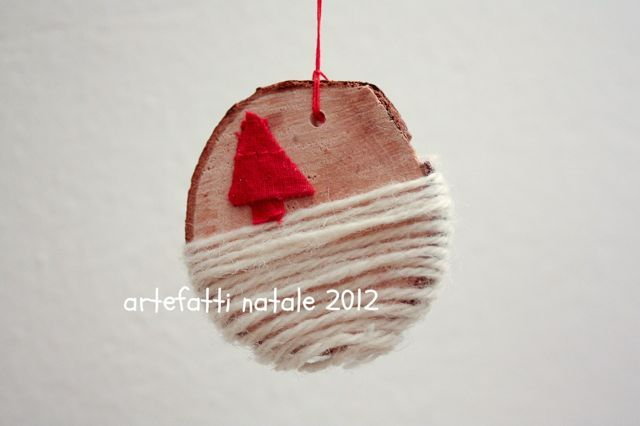 Christmas decorations by Artefatti