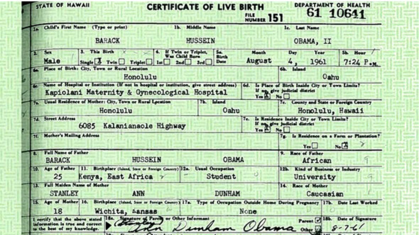 Dec 17 the evidence that obamas birth certificate is fake is dec 17 the evidence that obamas birth certificate is fake is heading to congress aiddatafo Images