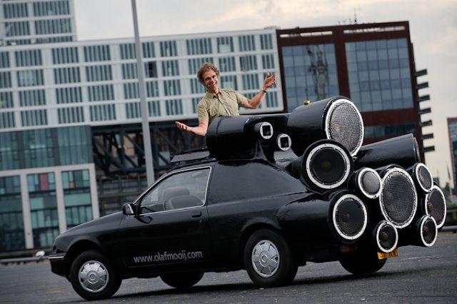 The dj mobile an art car mobile dj setup by olaf mooij dj dj the dj mobile an art car mobile dj setup by olaf mooij publicscrutiny Image collections