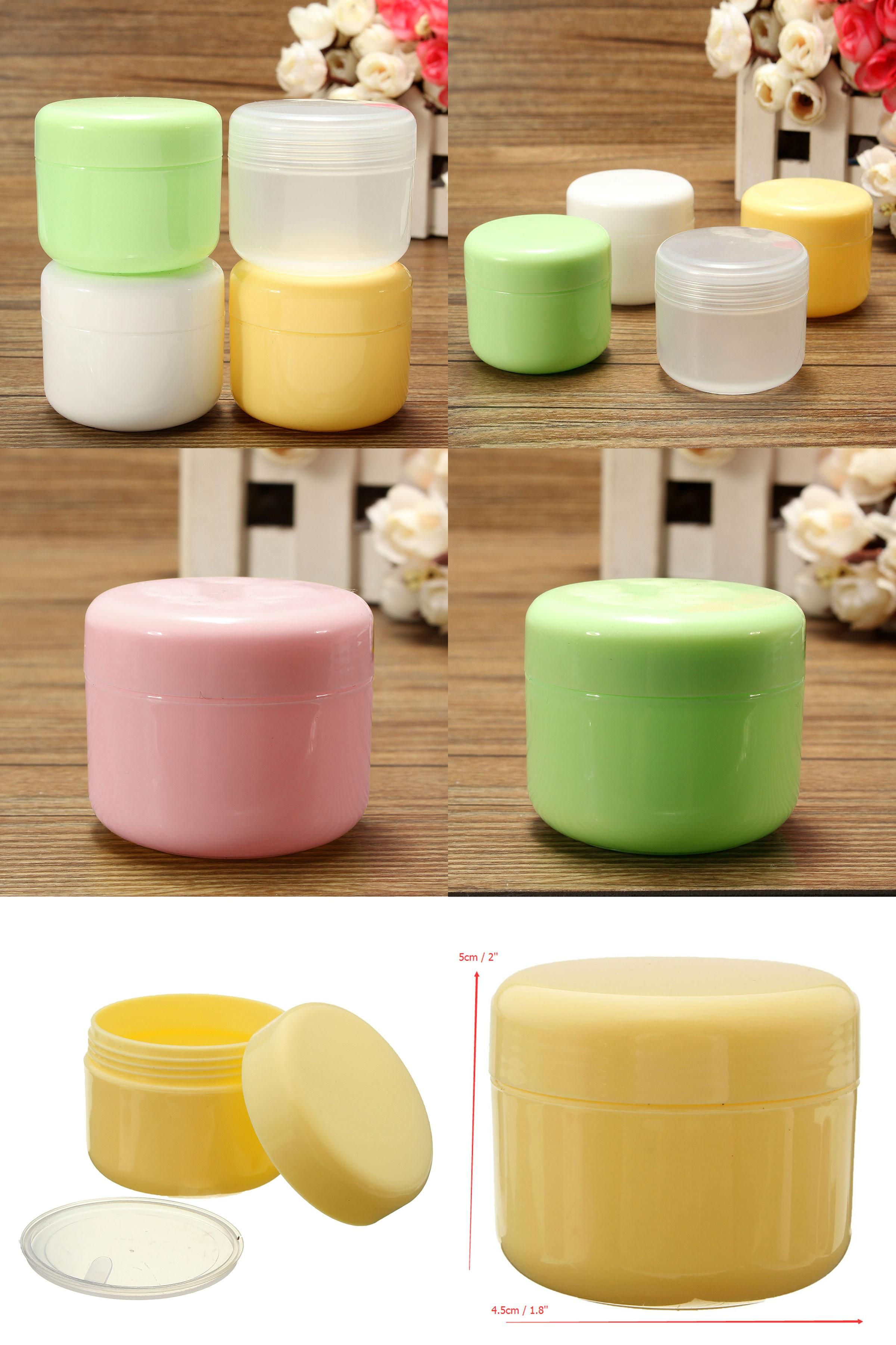 Visit to buy new pcs solid color clear gml plastic empty jar