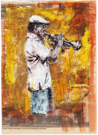 Toni Mengual LLobet - (Carnettiste)  Trompetista Cuba (Rencontre festival carnet voyage Carcassonne 4/6/2016)